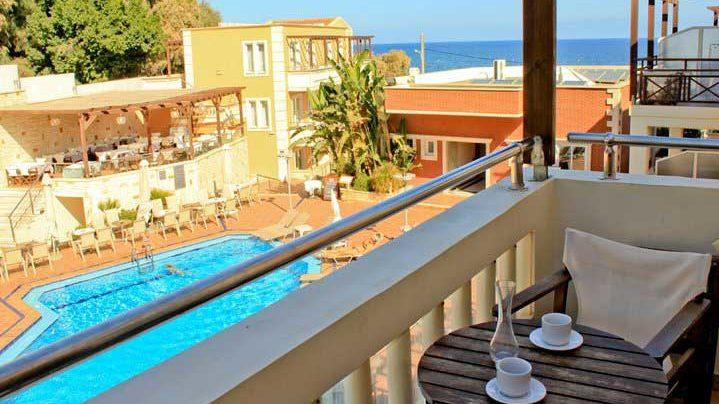Standard Studio Pool View Porto Kalamaki Chania Crete