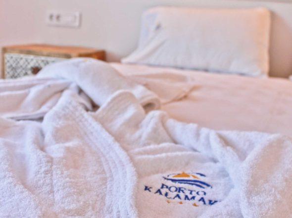 Junior Suite Bedroom - Porto Kalamaki Chania Crete