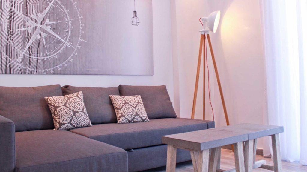 Junior Suite Living room - Porto Kalamaki Chania Crete