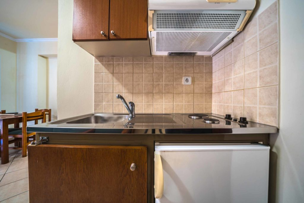 Kitchen Apartment - Porto Kalamaki Hotel Chania