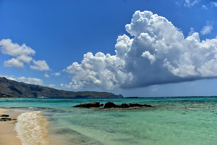 greece crete elafonisi beach